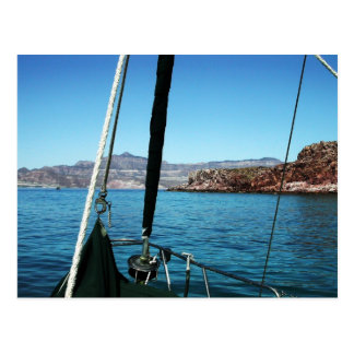 Isla San Francisco,  Baja California Sur, Mexico Postcard