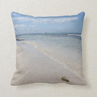 Isla Saona - Caribbean Beach Throw Pillow