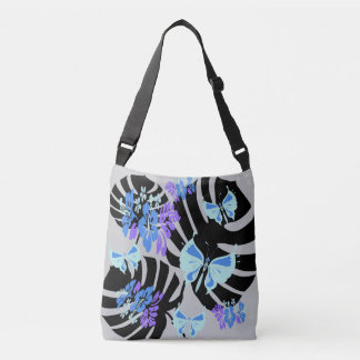 Isla Tropicana (prints piglet grey-blue) Crossbody Bag
