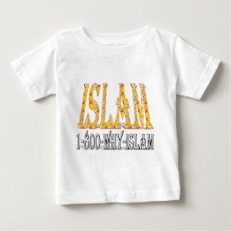 Islam is peace & love & happiness baby T-Shirt