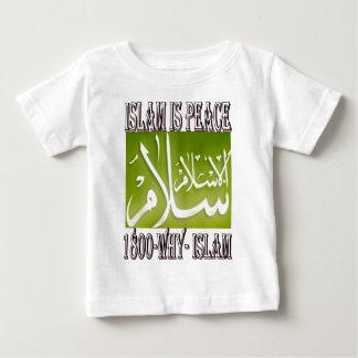 Islam is peace & love & happiness . ISLAM t shirt. Baby T-Shirt