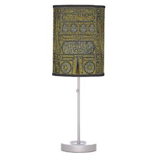 Islam Islamic Muslim Arabic Calligraphy Hajj Kaaba Desk Lamps