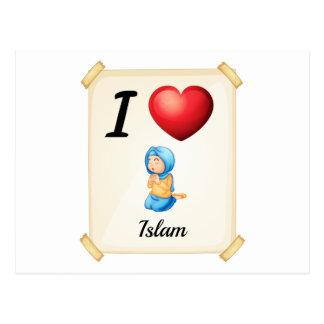 Islam Postcard