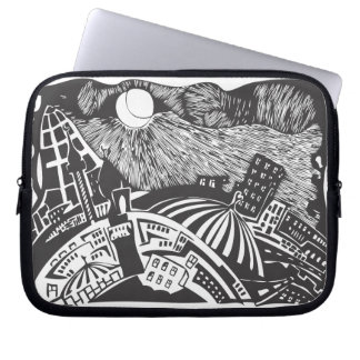 islamic city Alley Laptop Computer Sleeves