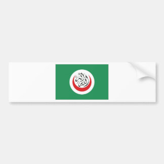 Islamic Conference Flag Bumper Sticker