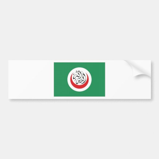 Islamic Conference Flag Bumper Stickers