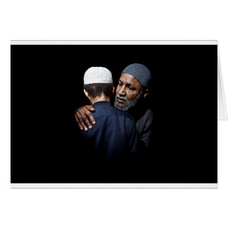 Islamic Eid card inspired by Surah Luqman.