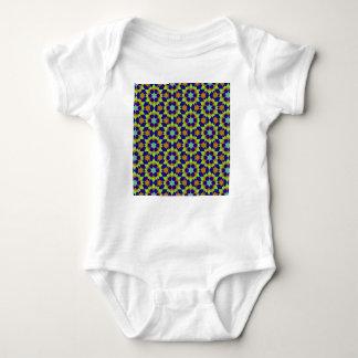islamic geometric pattern baby bodysuit