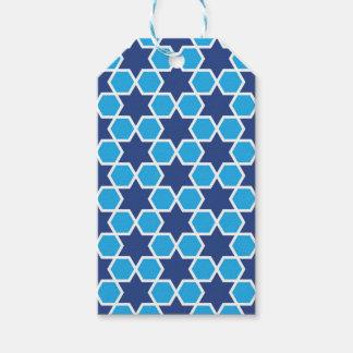 islamic geometric pattern gift tags