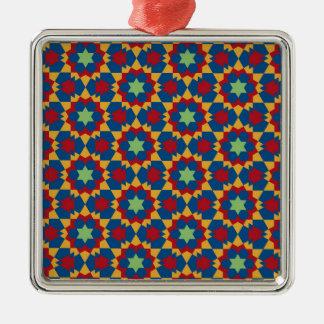 islamic geometric pattern metal ornament