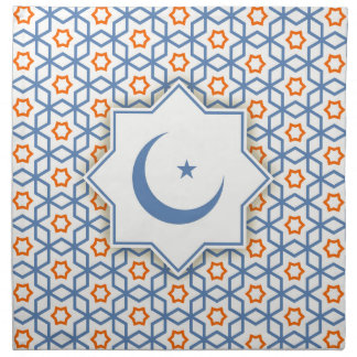 islamic geometric pattern napkin