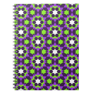 islamic geometric pattern notebook