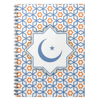 islamic geometric pattern notebooks