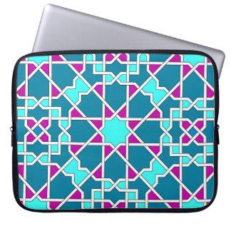 Islamic geometric pattern rickshaw sleeve