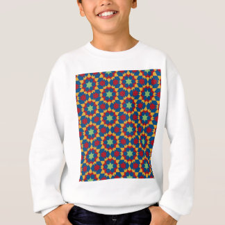 islamic geometric pattern sweatshirt