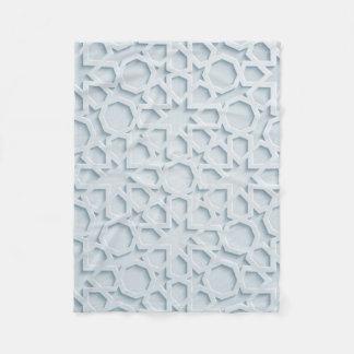 islamic moroccan geometric pattern blanket