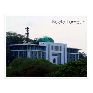 islamic museum malaysia dome postcard