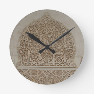 Islamic Patterns in the Alhambra, Andalusia, Spain Clocks