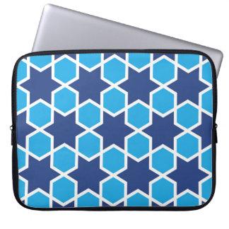 islamic religious geometric decoration pattern abs laptop sleeve