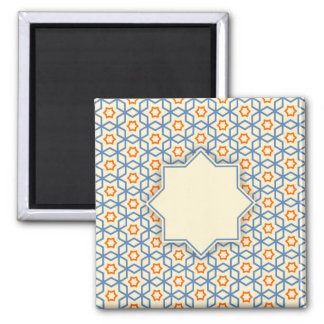 islamic religious geometric decoration pattern bac magnet