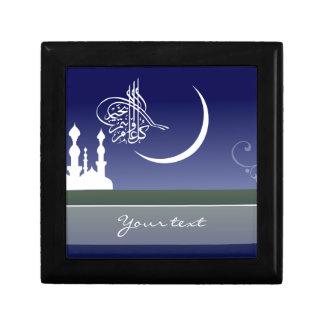 Islamic sky mosque Eid Adha Fitr Arabic gift box