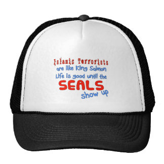 Islamic Terrorists Are Like King Salmon Trucker Hat