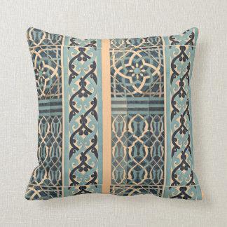Islamic Tile Design Custom Colour Throw Pillow