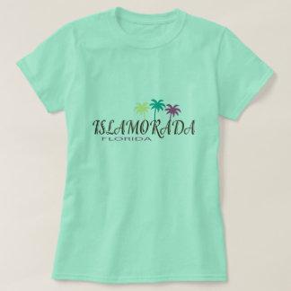 Islamorada Florida with palm trees T-Shirt