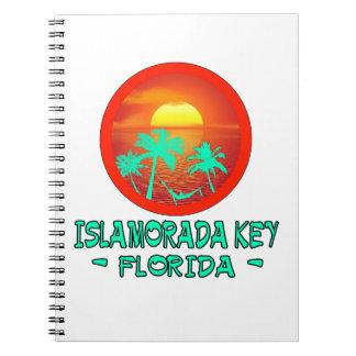 ISLAMORADA KEY FL TROPICAL DESTINATION NOTEBOOK