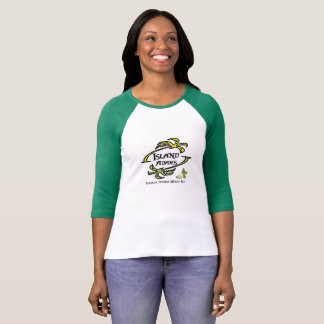 Island Adam Ladies 3/4 Sleeve T T-Shirt