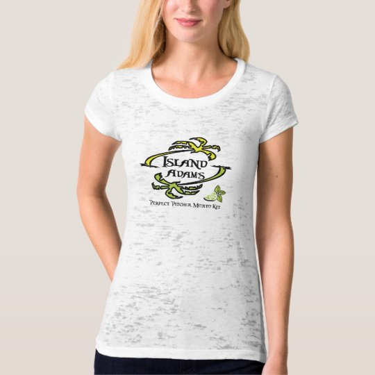 Island Adam Women's Premium Burnout T T-Shirt