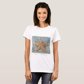 Island Art Starfish  Panama T-shirt by Yotigo