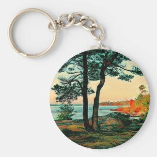Island Beauty Keychain