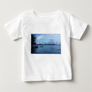 Island Boat Dock Baby T-Shirt