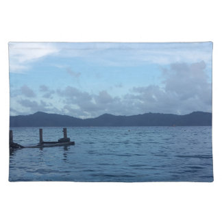 Island Boat Dock Placemat