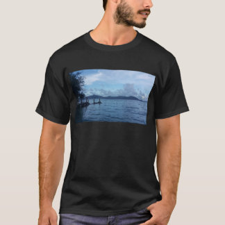 Island Boat Dock T-Shirt