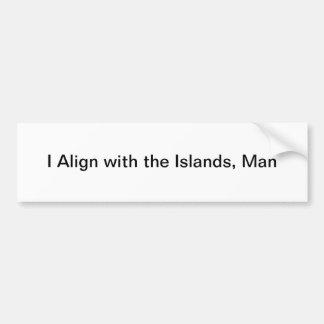 island bumper sticker
