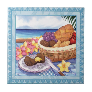 Island Cafe - Breakfast Lanai Ceramic Tile
