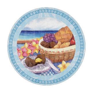 Island Cafe - Breakfast Lanai Cutting Board