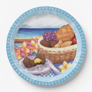Island Cafe - Breakfast Lanai Paper Plate