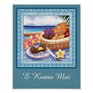 Island Cafe - Breakfast Lanai Poster