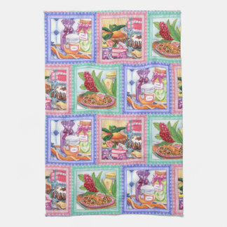 Island Cafe - Desserts, Pupus and Jams Kitchen Towel