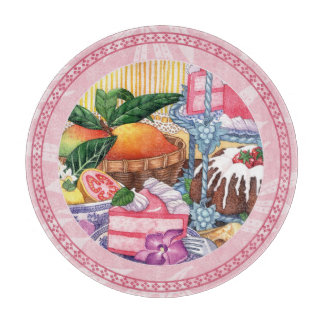 Island Cafe - Guava Chiffon Dessert Cutting Board