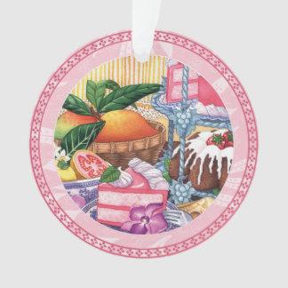 Island Cafe - Guava Chiffon Dessert Ornament
