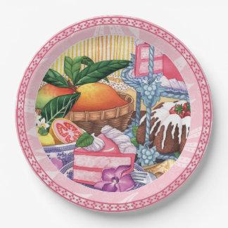 Island Cafe - Guava Chiffon Dessert Paper Plate
