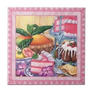 Island Cafe - Guava Chiffon Dessert Tile