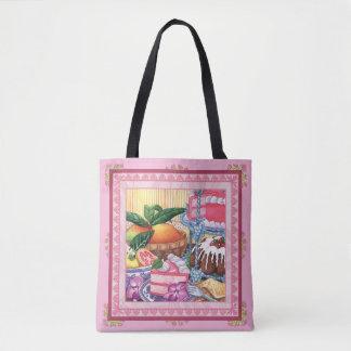 Island Cafe - Guava Chiffon Dessert Tote Bag