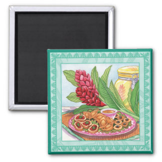 Island Cafe - Party Pupus Magnet