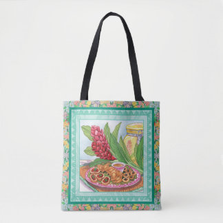 Island Cafe - Party Pupus Tote Bag