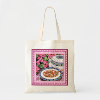 Island Cafe - Soup is Served Tote Bag